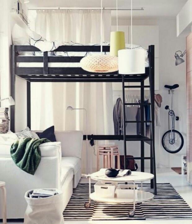 camas en altura diseño interior