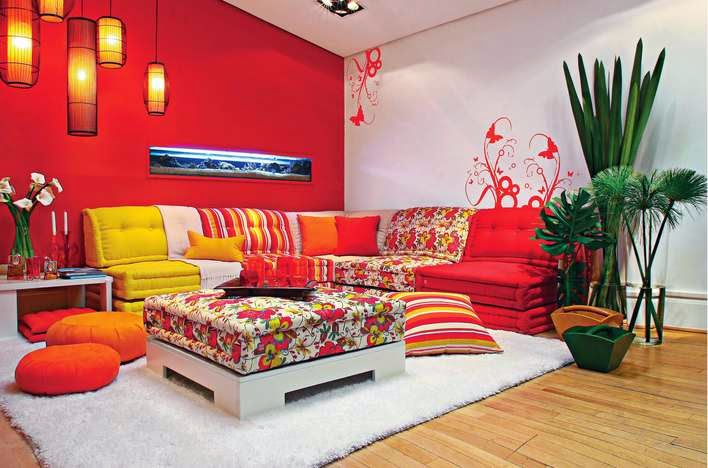 colores en ambientes chill out