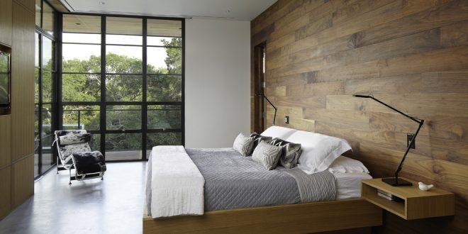 Decoracion con paneles decorativos de madera hoy lowcost - Decoracion con paneles ...