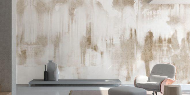 Decoracion paredes papel pintado hoy lowcost - Papeles de decoracion para paredes ...