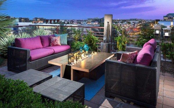 Crea tu terraza chill out por poco dinero hoy lowcost - Decorar terrazas reciclando ...