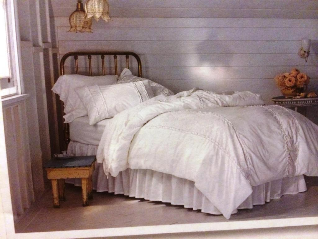 dormitorio individual shabby chic
