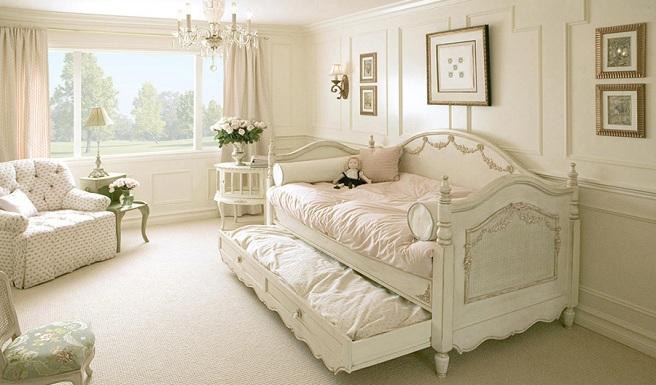 dormitorios compartidos shabby chic