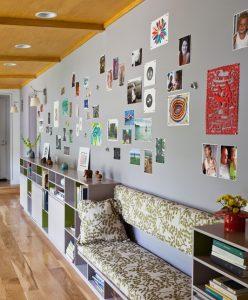 Focos empotrados y aplique pared pasillo largo hoy lowcost - Como decorar un pasillo largo y estrecho ...