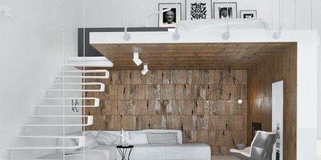 Ideas loft minimalista hoy lowcost - Diseno minimalista interiores ...