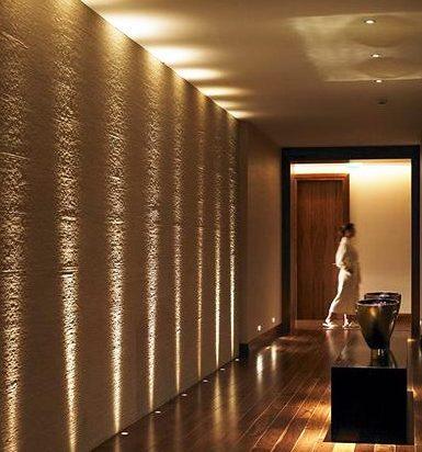 Decoraci n pasillos y recibidores consejos de iluminaci n - Iluminacion decorativa exterior ...