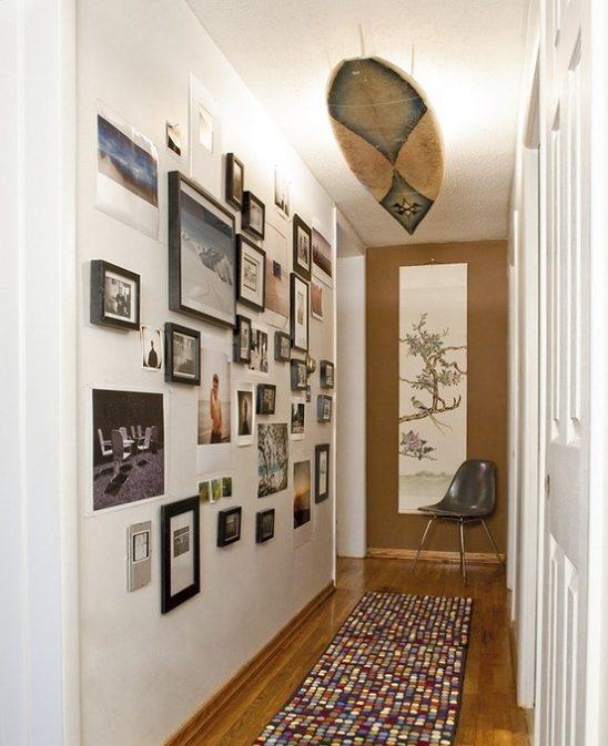 decoracion pasillos lamparas de diseño