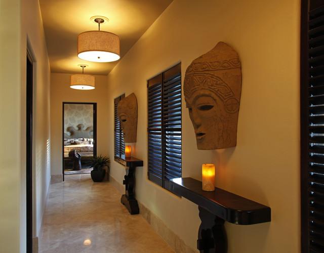 Decoraci n pasillos y recibidores consejos de iluminaci n - Lamparas para pasillos casa ...