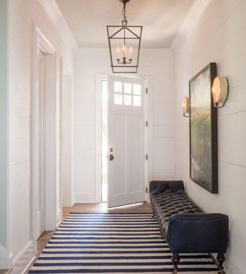 Decoraci n pasillos y recibidores consejos de iluminaci n hoy lowcost - Apliques de pared originales ...