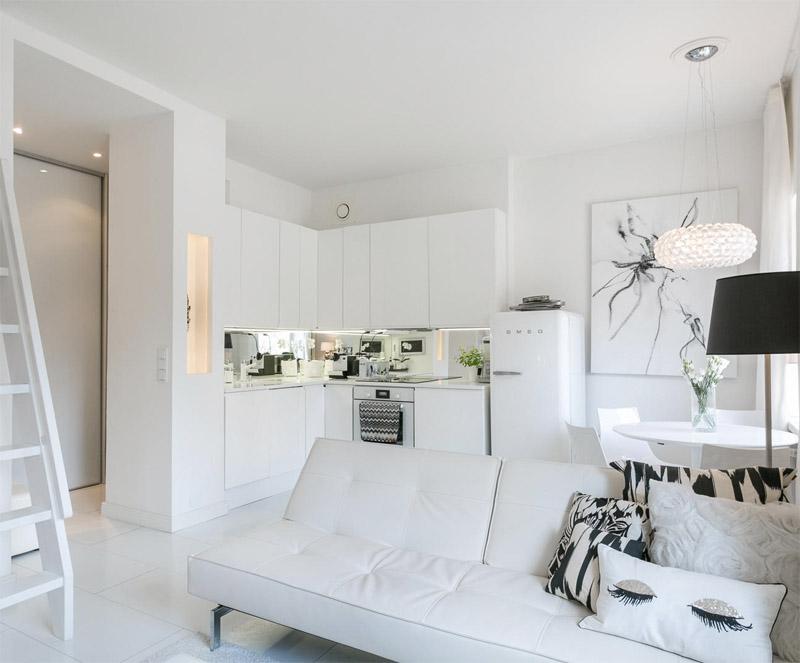 diseño interiores en blanco