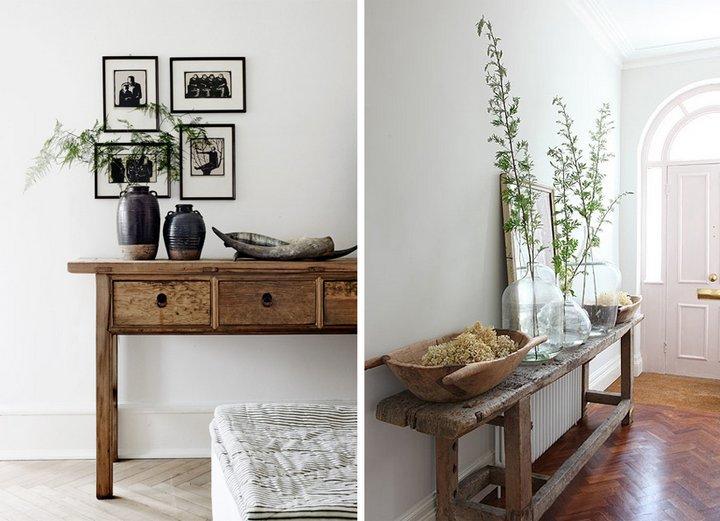 Recibidores baratos ideas para enamorar hoy lowcost for Recibidores muebles