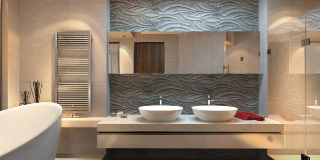 Paneles 3d decoraci n ba os hoy lowcost - Banos en 3d ...