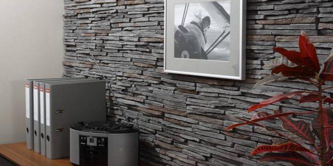 Paneles de piedra paredes hoy lowcost - Revestimientos decorativos para paredes ...