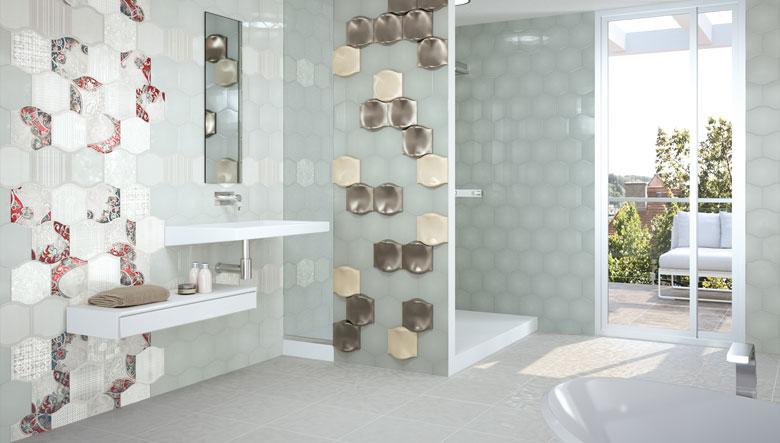 Paneles decorativos y revestimientos para paredes hoy - Losas de bano ...