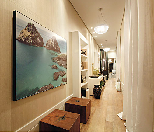 Decoraci n pasillos y recibidores consejos de iluminaci n - Fotos de pasillos decorados ...