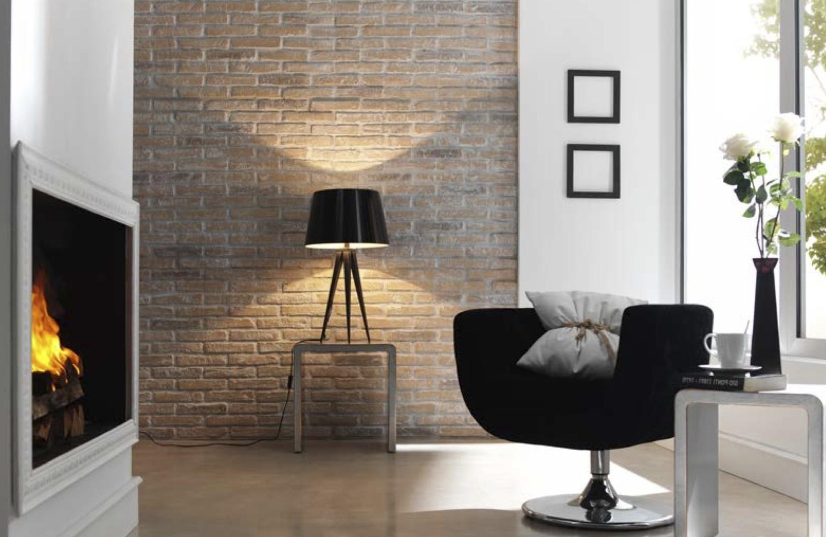 Ideas geniales en revestimiento de paredes hoy lowcost - Revestimiento paredes interior ...