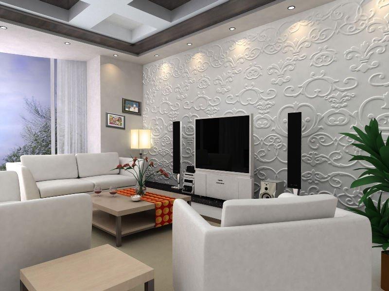 Ideas geniales en revestimiento de paredes hoy lowcost - Decoracion de escayola ...