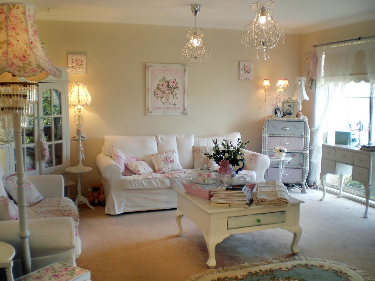 shabby chic decoracion y estilo en auge hoy lowcost. Black Bedroom Furniture Sets. Home Design Ideas