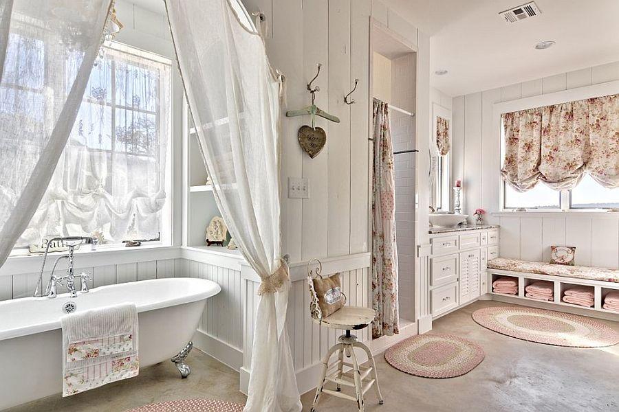 shabby chic cuartos de baño