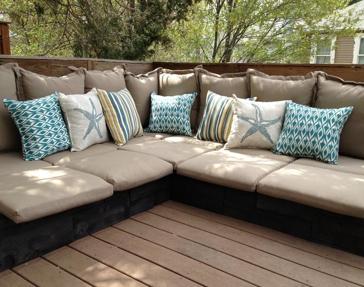 amplios sofas terrazas