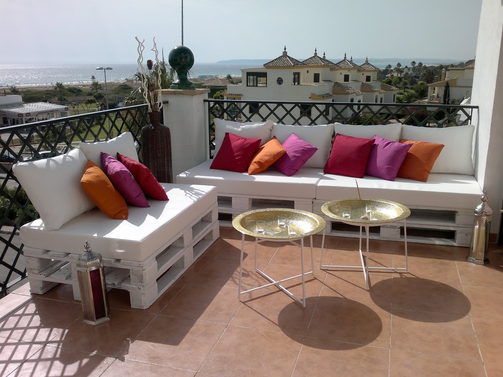 decoracion palets terraza - Chill Out Con Palets