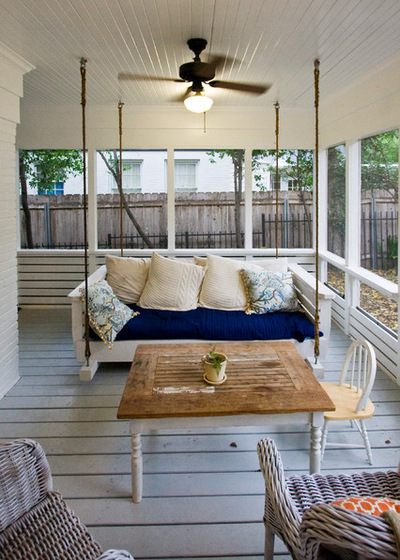Swings In Balcony Porches