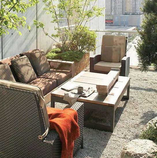 muebles chillout exteriores