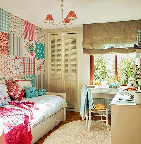 Como decorar habitaciones juveniles acogedoras hoy lowcost for Imagenes de cuartos infantiles decorados