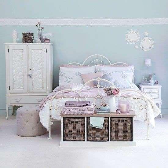 decoracion dormitorios estilo vintange