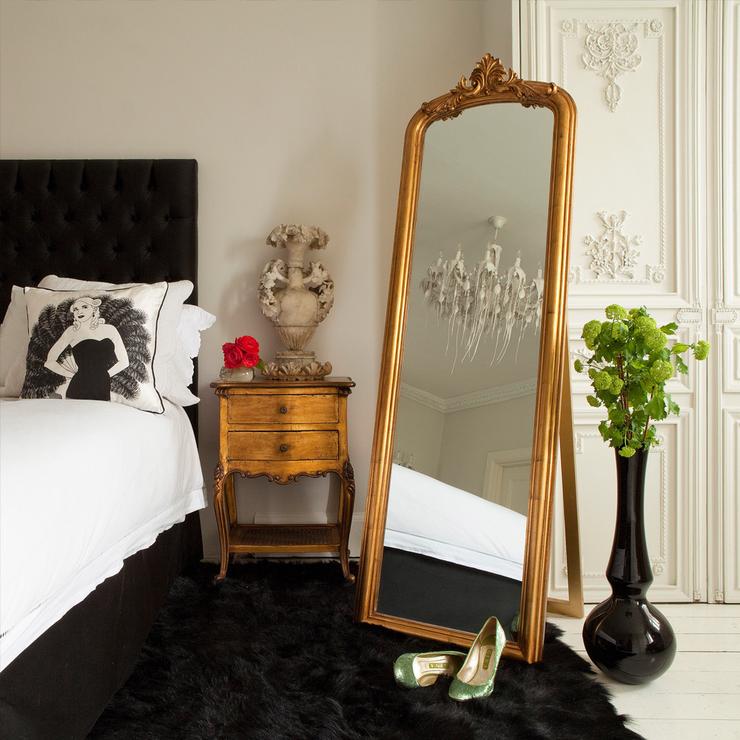 decoracion dormitorios vintange complementos
