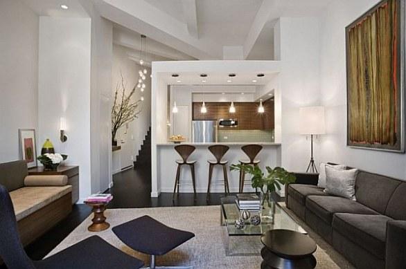 decorar loft muebles