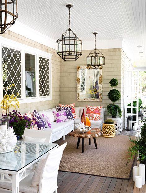 Como decorar una terraza con encanto hoy lowcost for Decoracion iluminacion