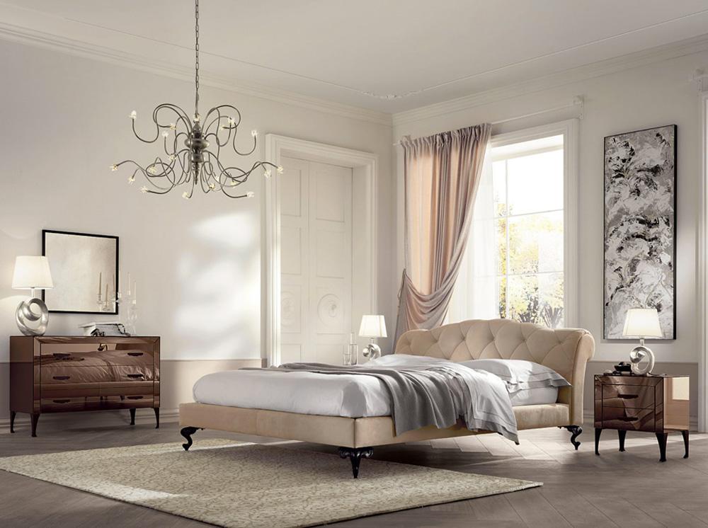 dormitorio clasico acogedor