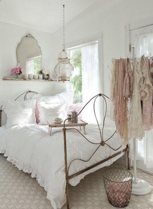dormitorio femenino vintange