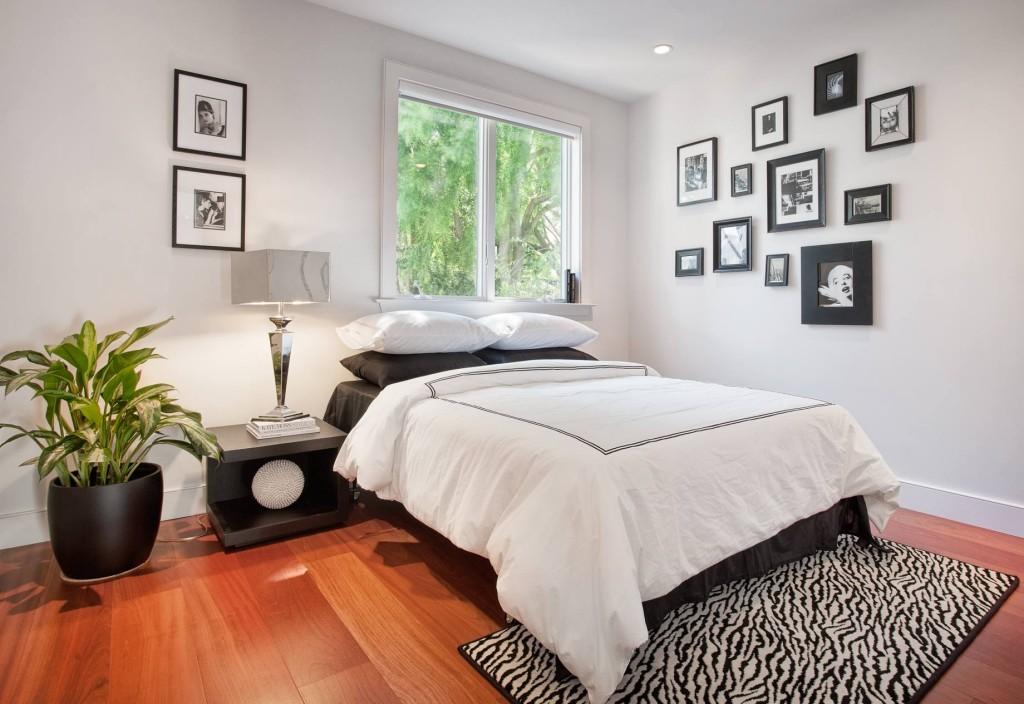 dormitorio sencillo y acogedor
