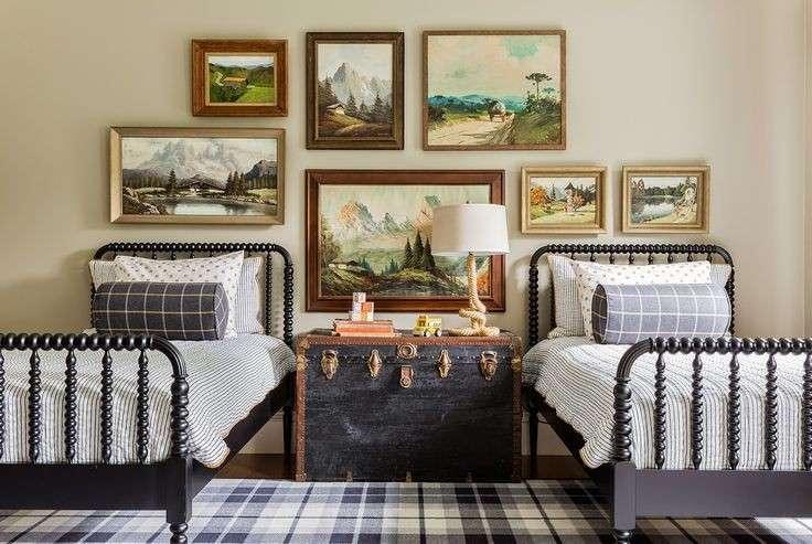 dormitorios compartidos estilo vintange