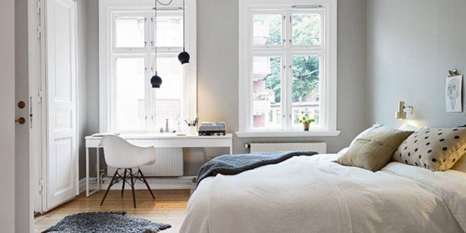 Dormitorios estilo nordico acogedores hoy lowcost for Dormitorio matrimonio estilo nordico