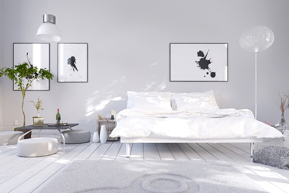 dormitorios minimalistas acogedores