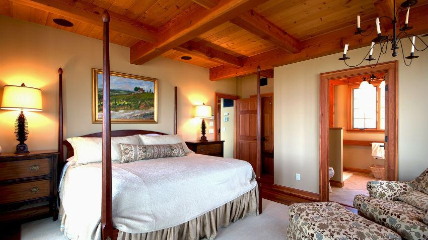 dormitorios rústicos acogedores