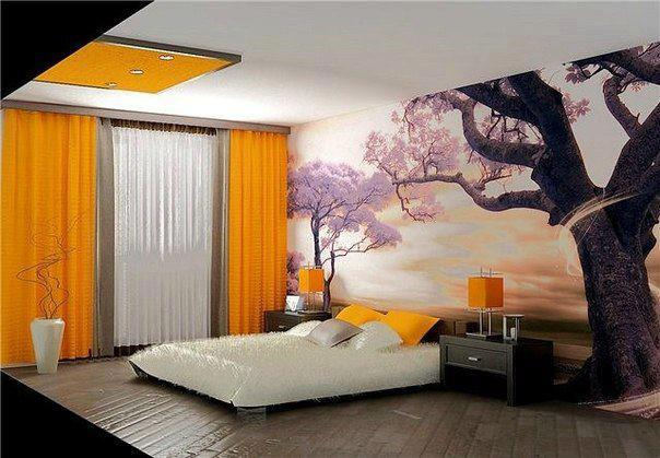 fotomurales habitaciones matrimonio acogedoras