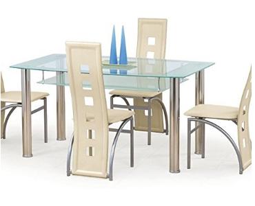 mesa y sillas minimalistas