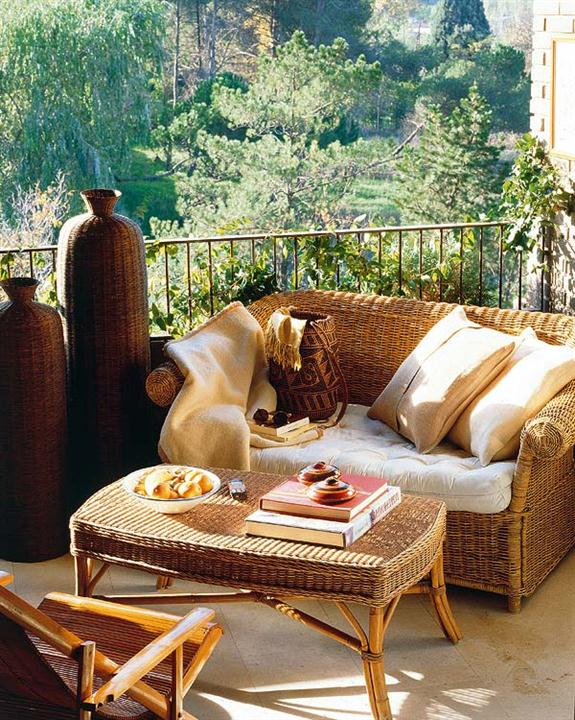 Como decorar una terraza con encanto hoy lowcost - Terrazas pequenas con encanto ...
