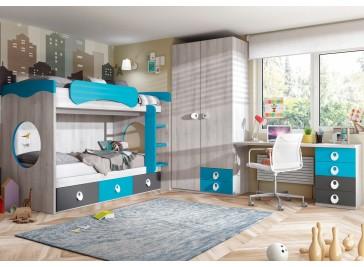 muebles dormitorios juveniles compartidos