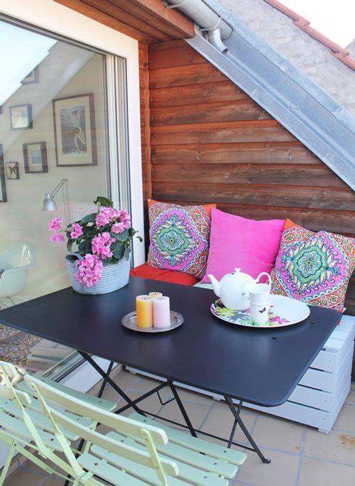 colores decoracion terrazas