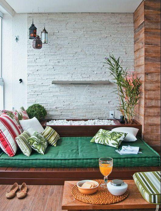 como decorar una terraza barato