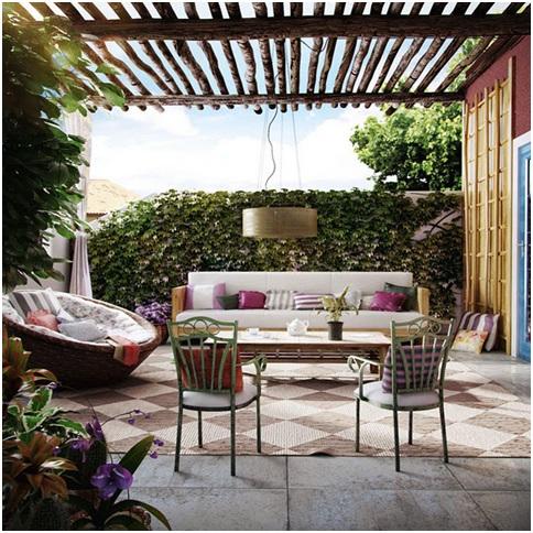 Como decorar una terraza con encanto hoy lowcost for Ideas para terrazas rusticas