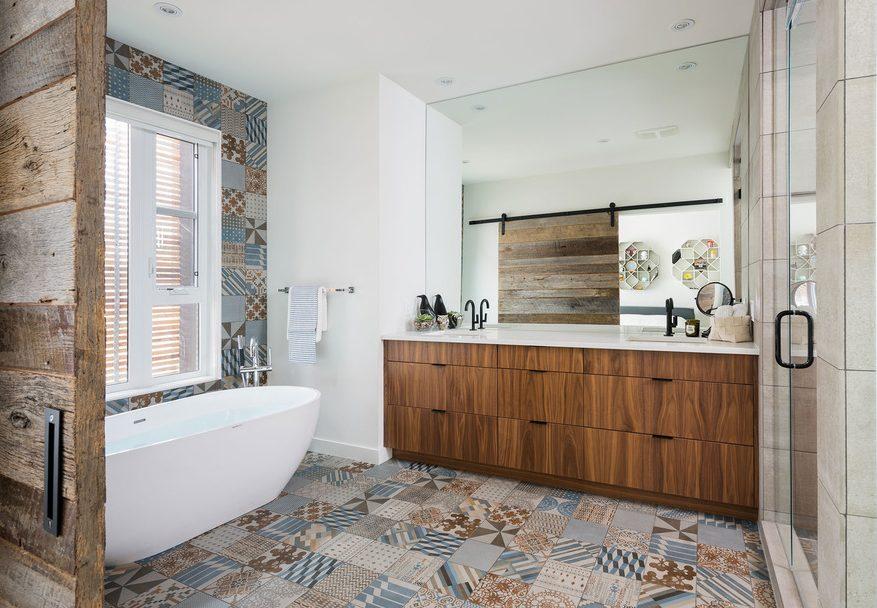 Baldosas Baño Rustico:diseño baños rusticos