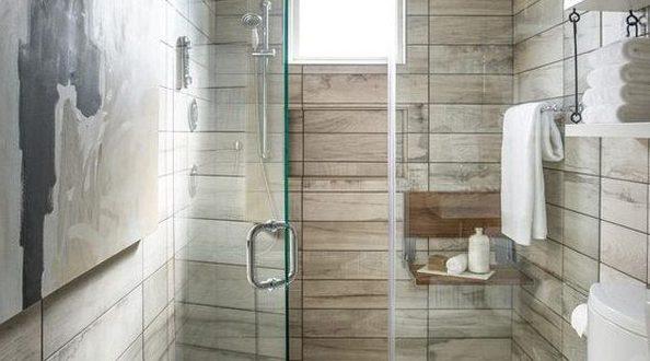 Ba o rustico peque o con ducha hoy lowcost for Banos pequenos rusticos