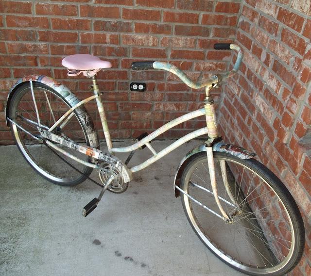 bicicleta decoupage
