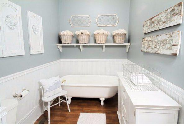 accesorios baño rusticos